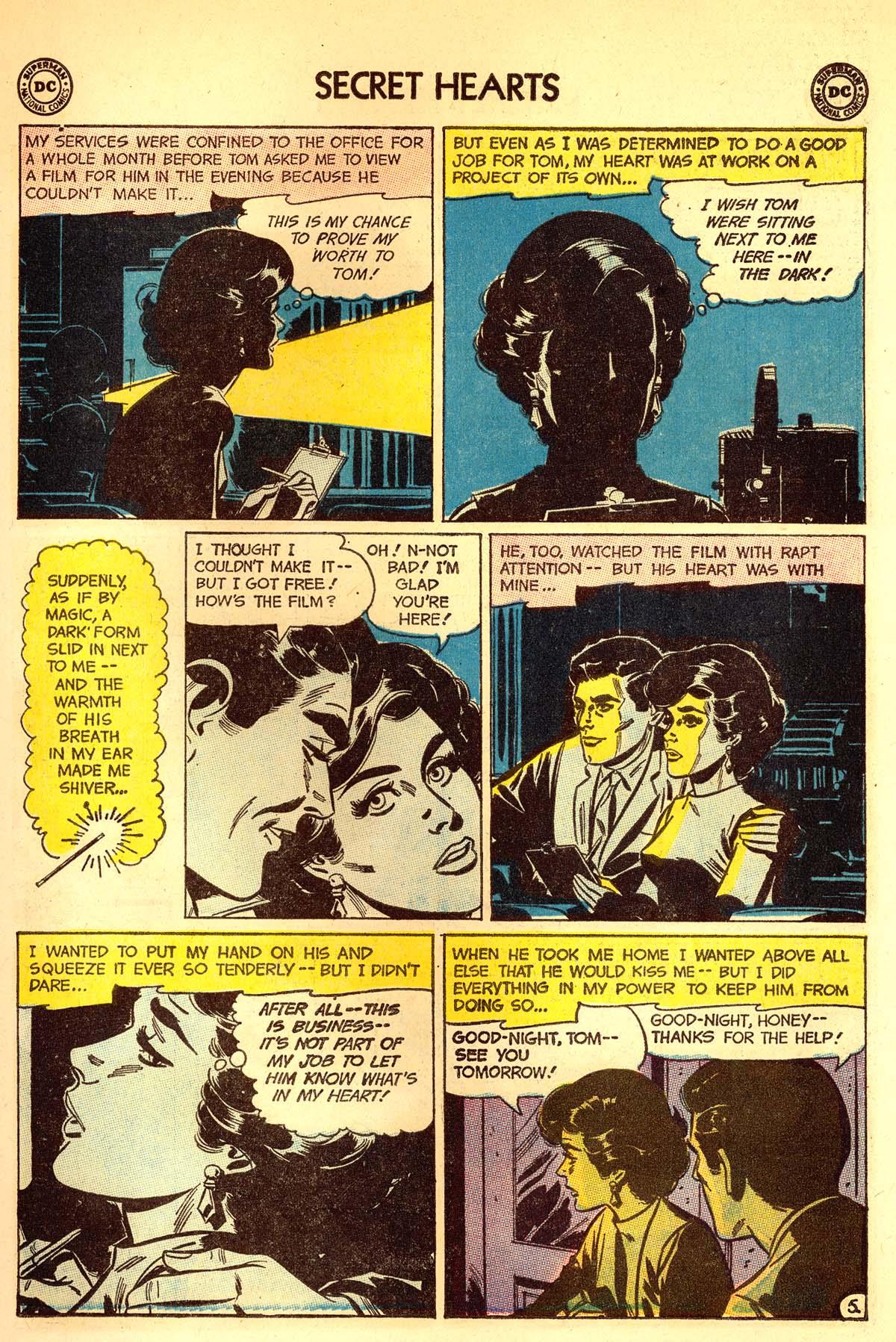Read online Secret Hearts comic -  Issue #89 - 7