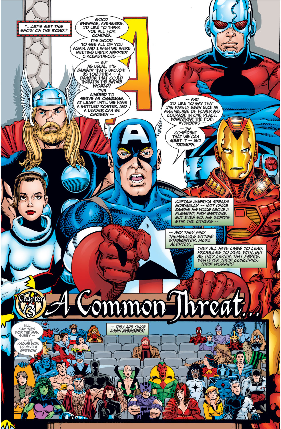 Read online Avengers (1998) comic -  Issue #1 - 19