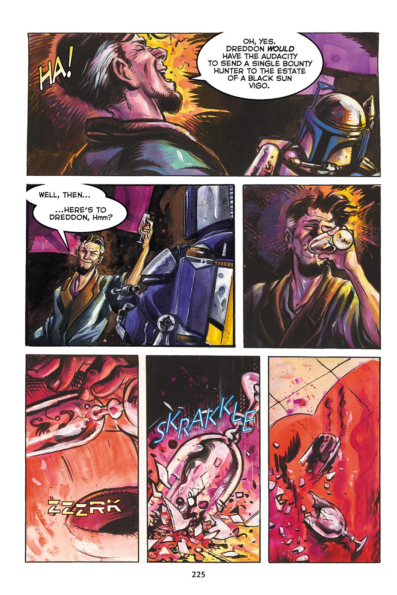 Read online Star Wars Omnibus comic -  Issue # Vol. 10 - 224