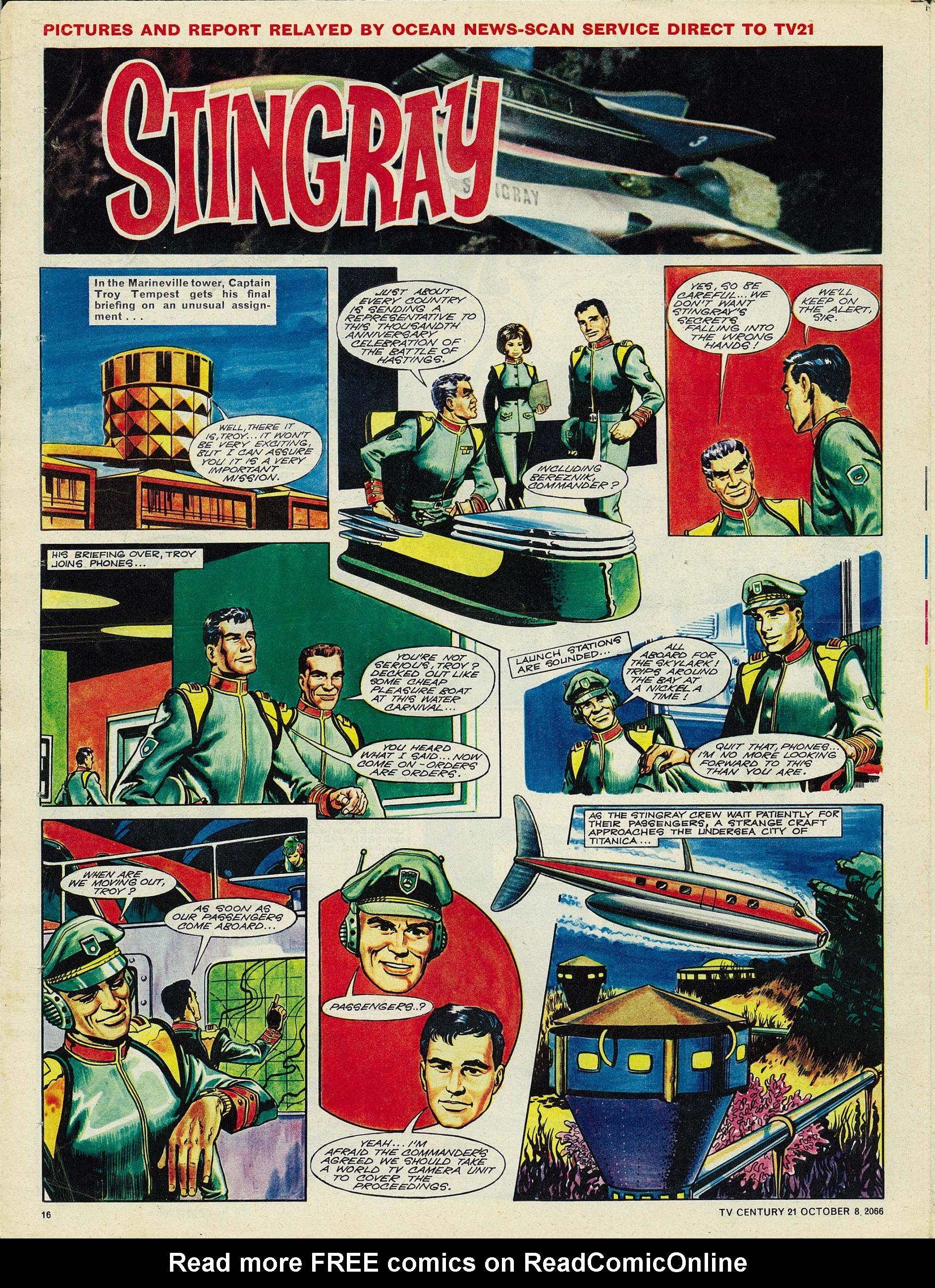 Read online TV Century 21 (TV 21) comic -  Issue #90 - 15