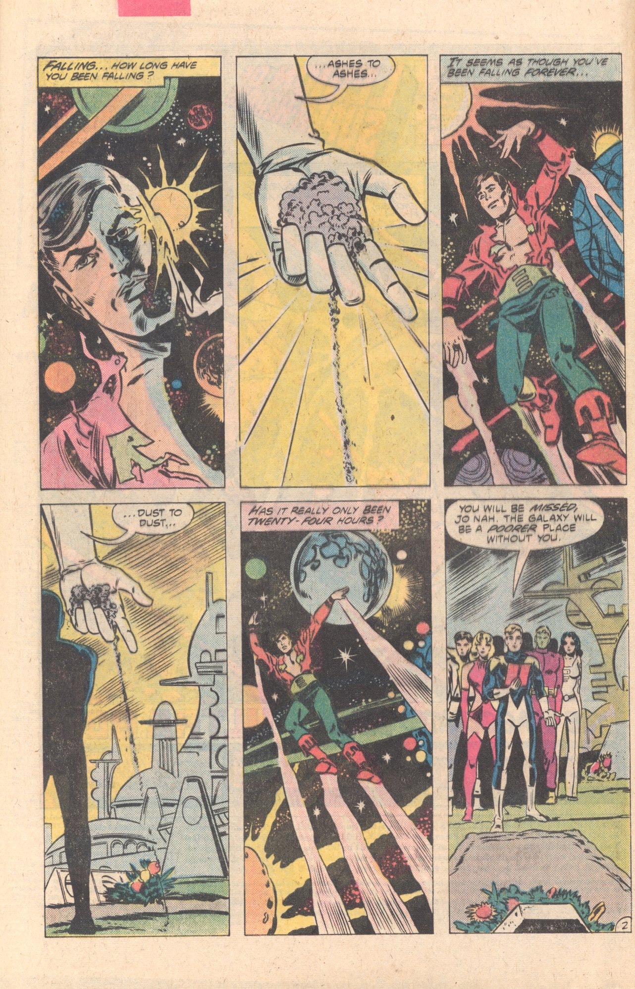 Legion of Super-Heroes (1980) 274 Page 2