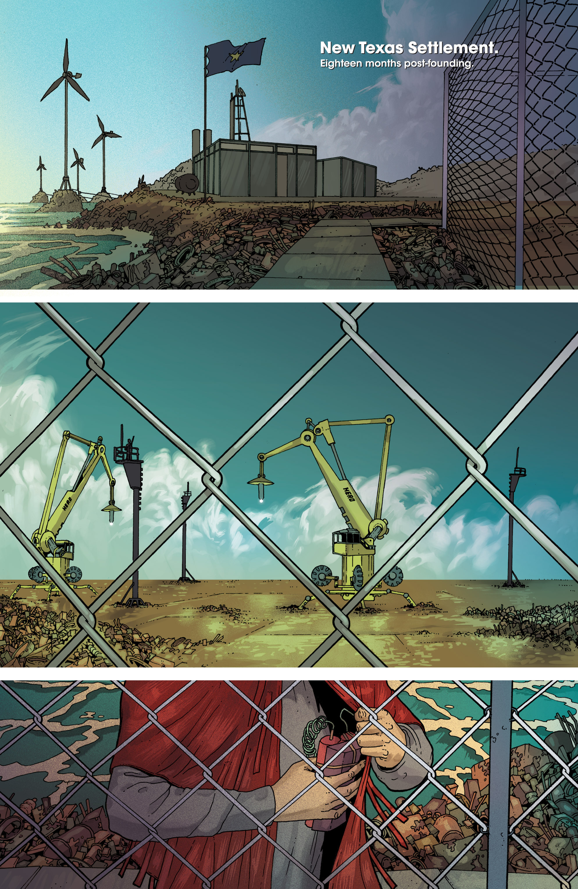 Read online Great Pacific comic -  Issue #7 - 3
