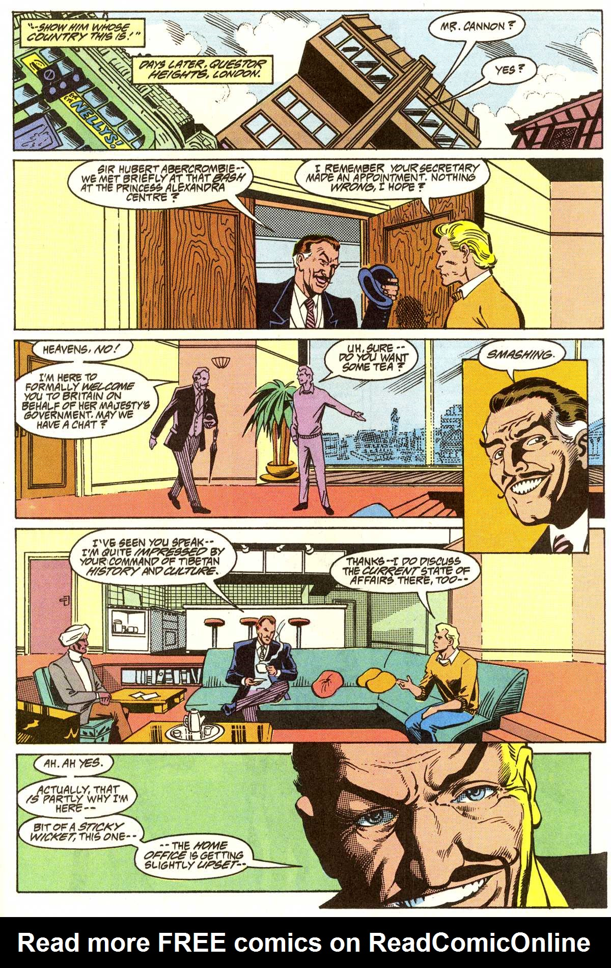 Read online Peter Cannon--Thunderbolt (1992) comic -  Issue #7 - 18