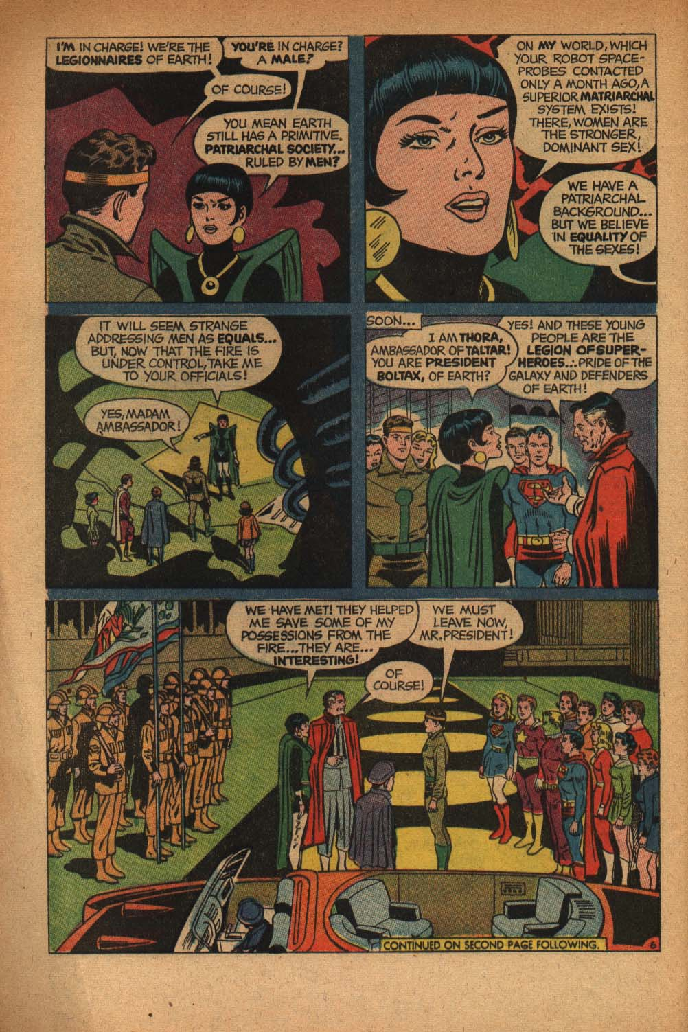 Read online Adventure Comics (1938) comic -  Issue #368 - 8