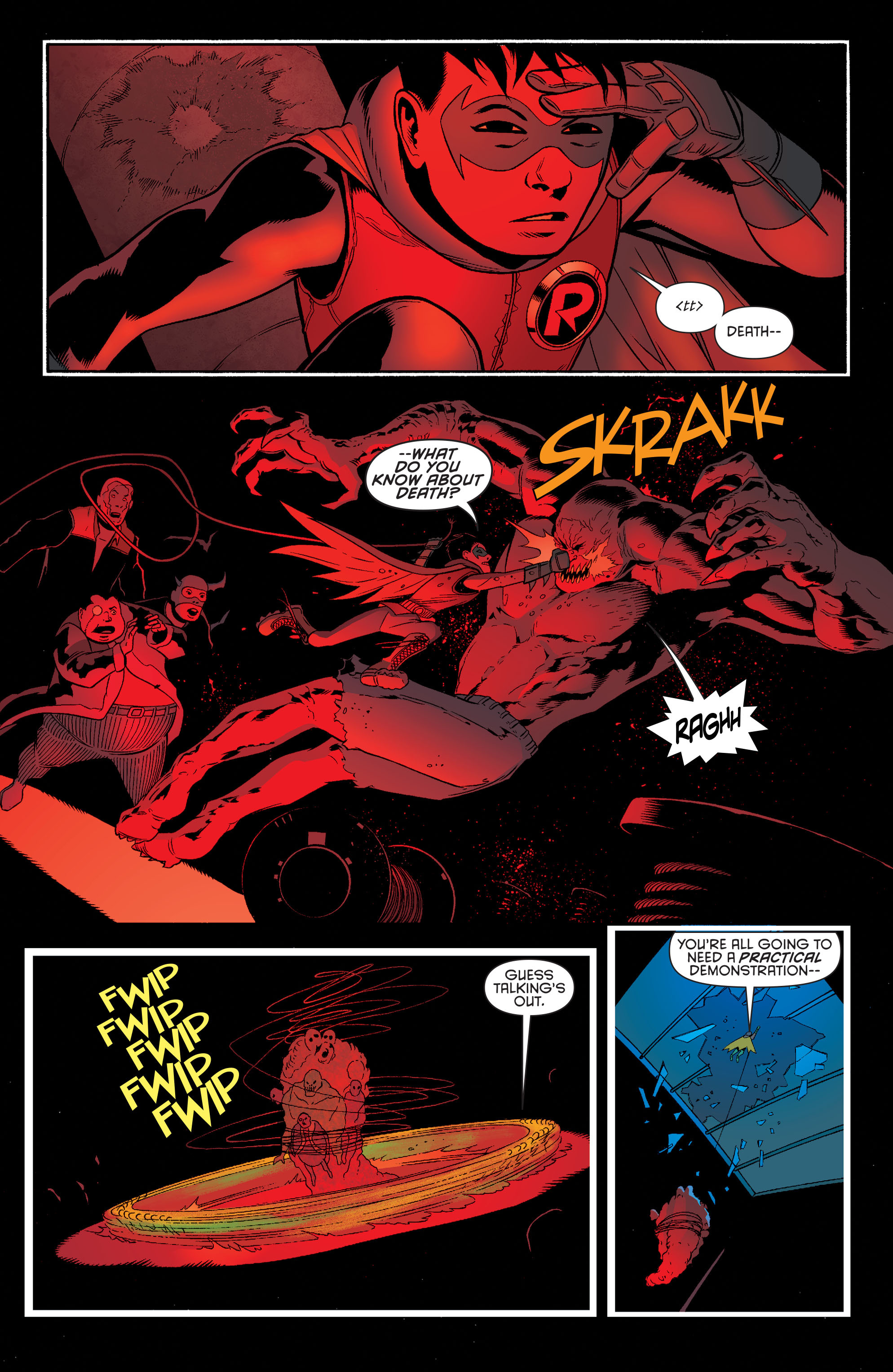 Read online Batman and Robin (2011) comic -  Issue #39 - 5