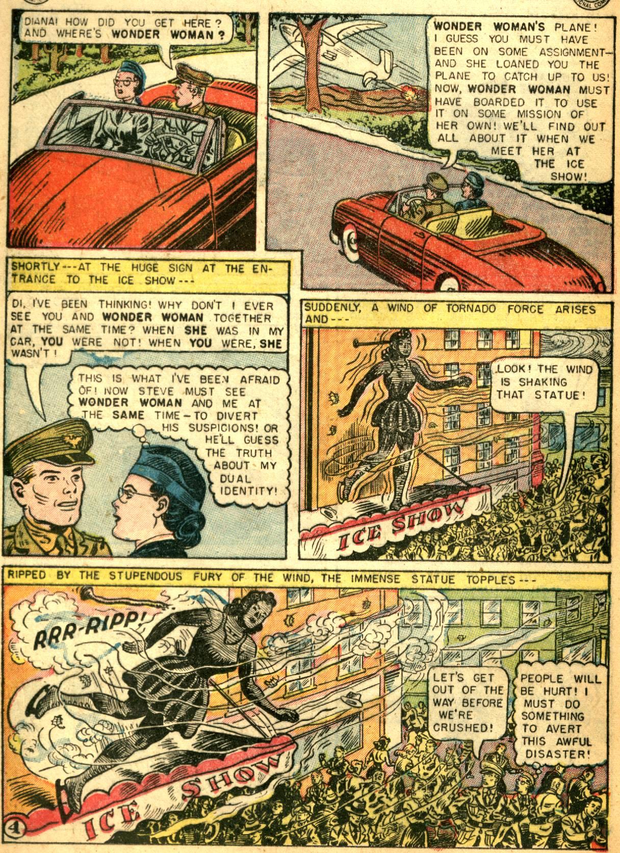 Read online Wonder Woman (1942) comic -  Issue #73 - 16