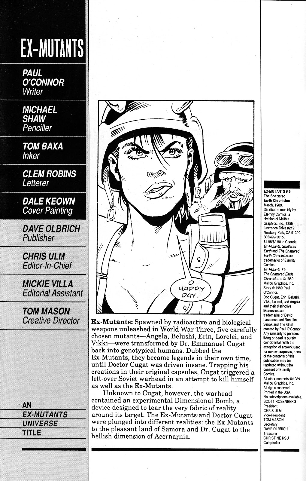 Ex-Mutants: The Shattered Earth Chronicles issue 9 - Page 2