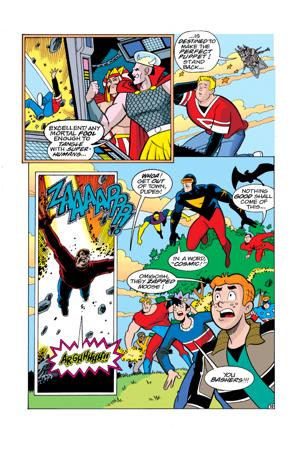 Read online Archie's Weird Mysteries comic -  Issue #3 - 11