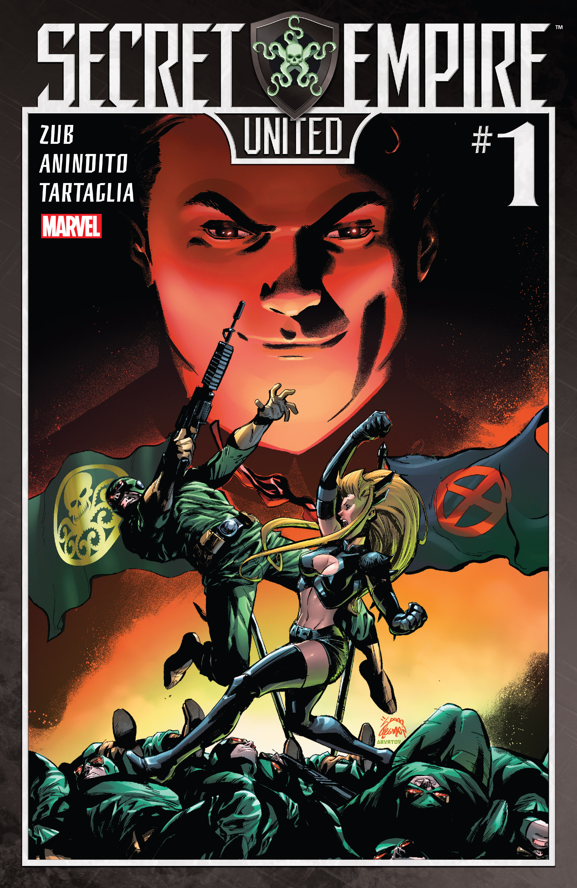 Read online Secret Empire: United comic -  Issue # Full - 1