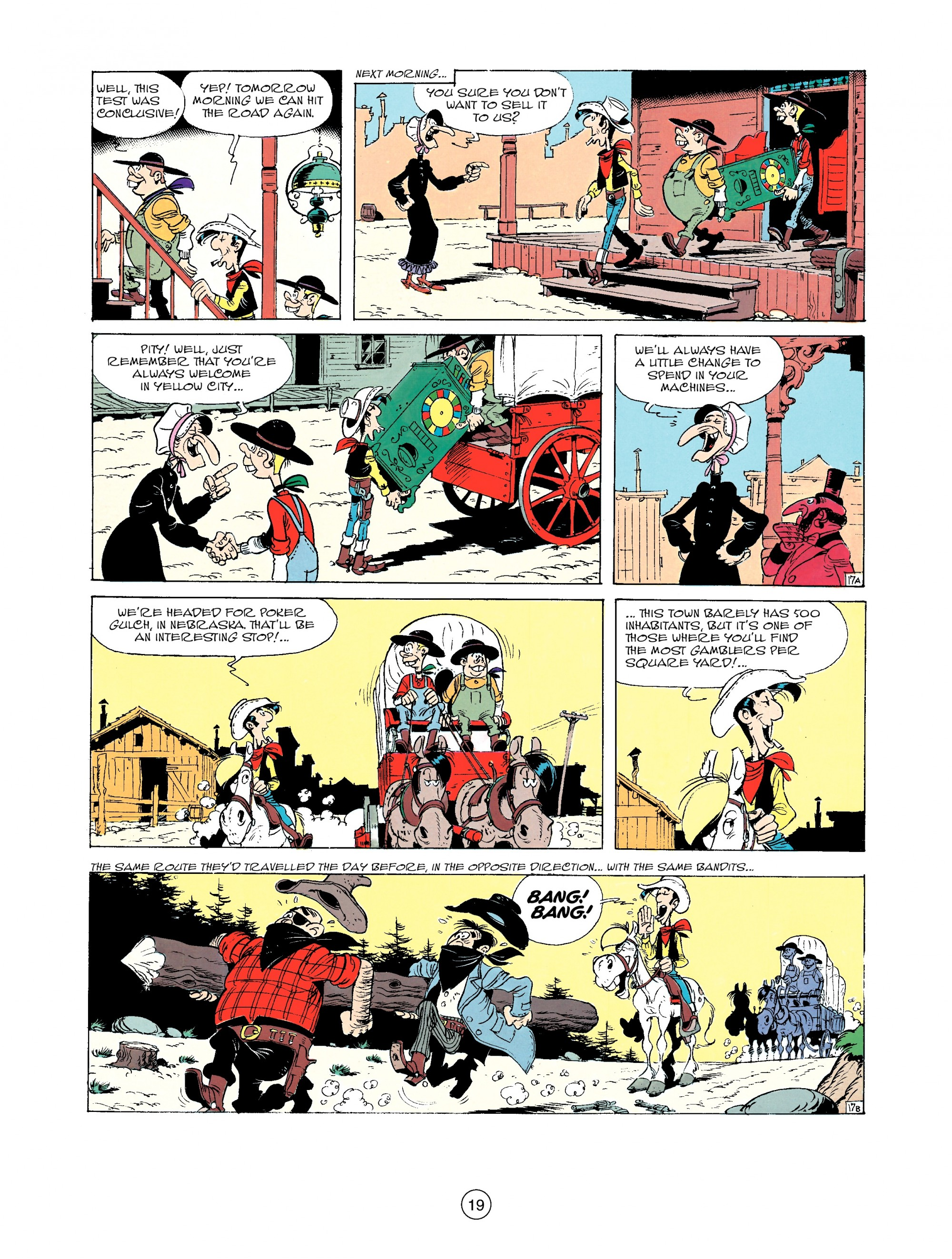 Read online A Lucky Luke Adventure comic -  Issue #33 - 19