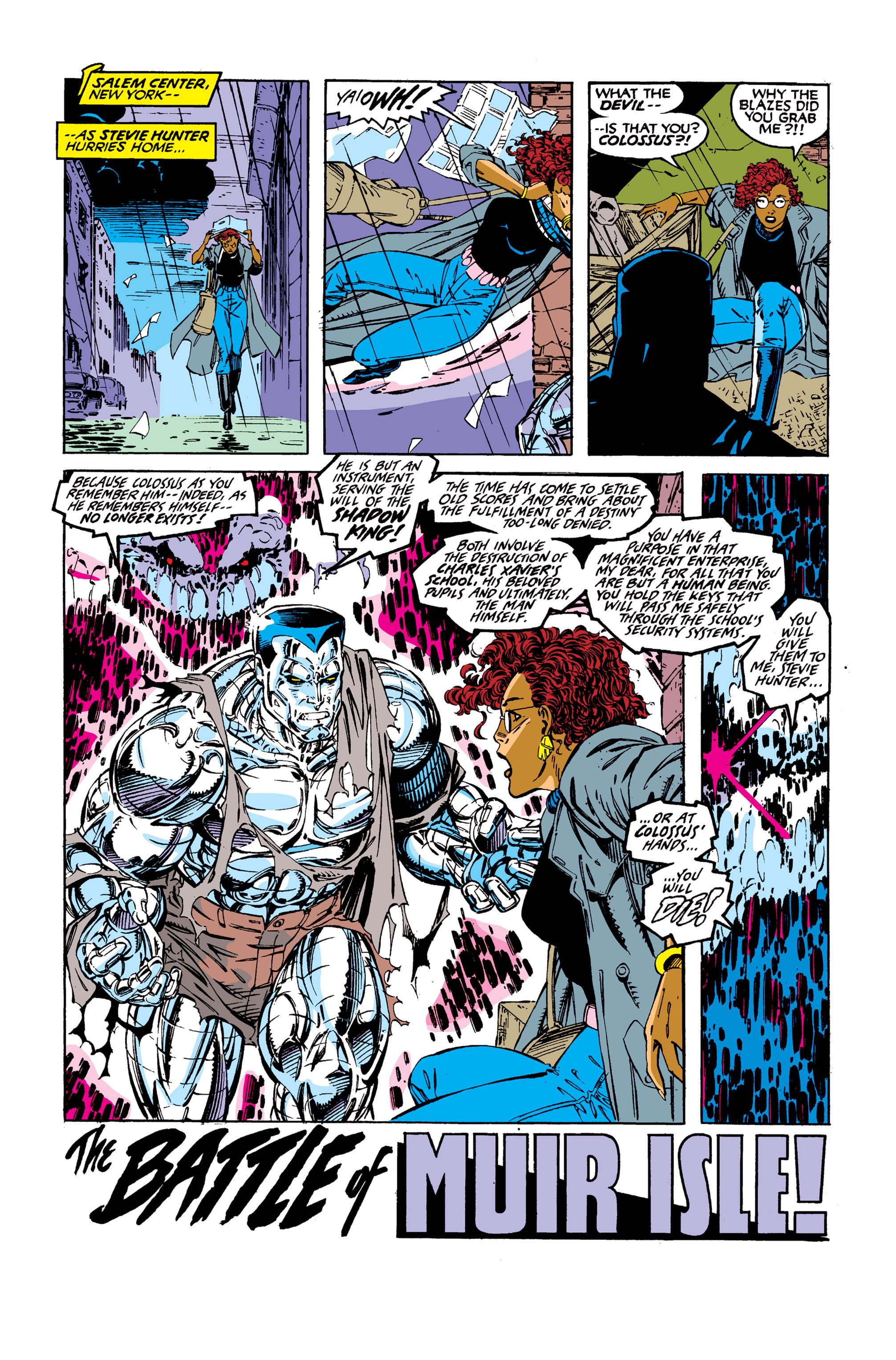 Read online Uncanny X-Men (1963) comic -  Issue #277 - 23