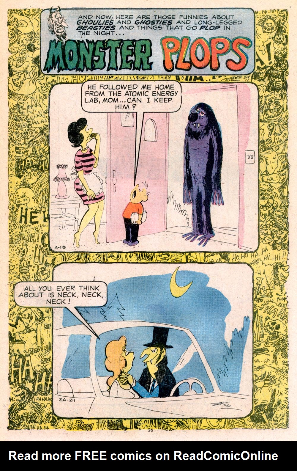 Read online Plop! comic -  Issue #5 - 27