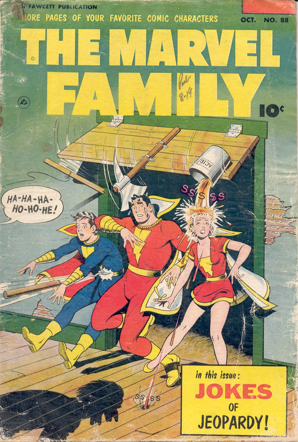 The Marvel Family 88 Page 1