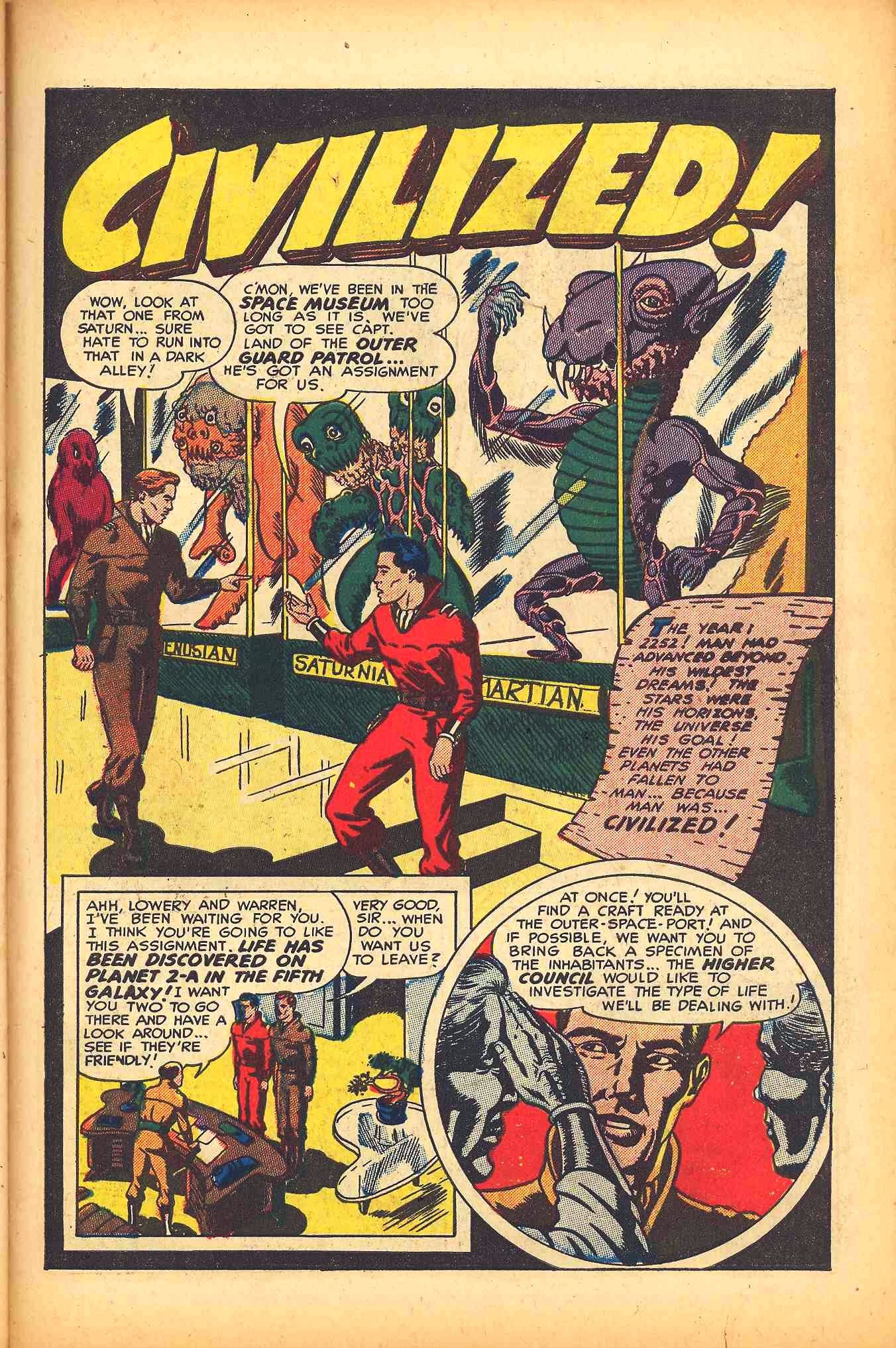 Weird Mysteries (1952) issue 6 - Page 27