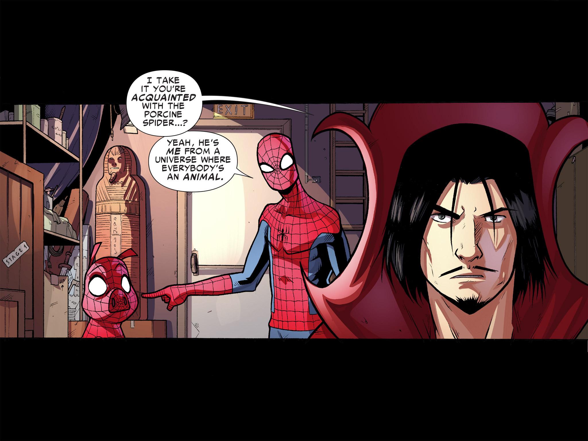 Read online Ultimate Spider-Man (Infinite Comics) (2016) comic -  Issue #9 - 23