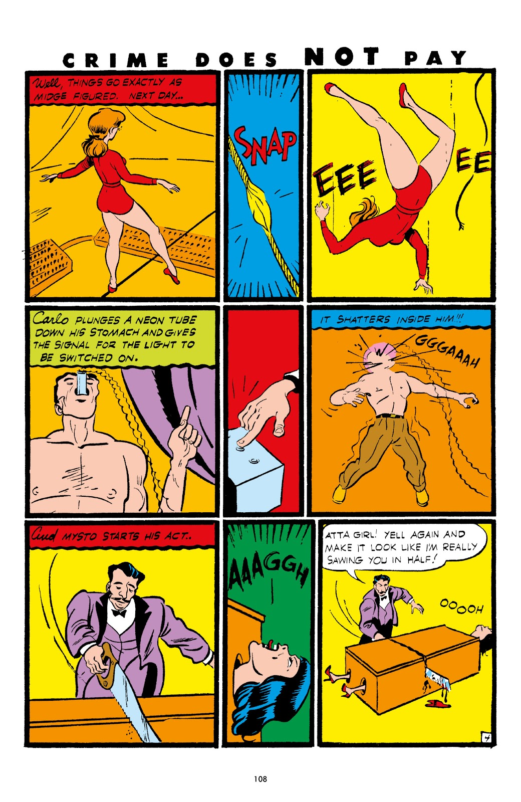 Read online Crime Does Not Pay Archives comic -  Issue # TPB 5 (Part 2) - 8