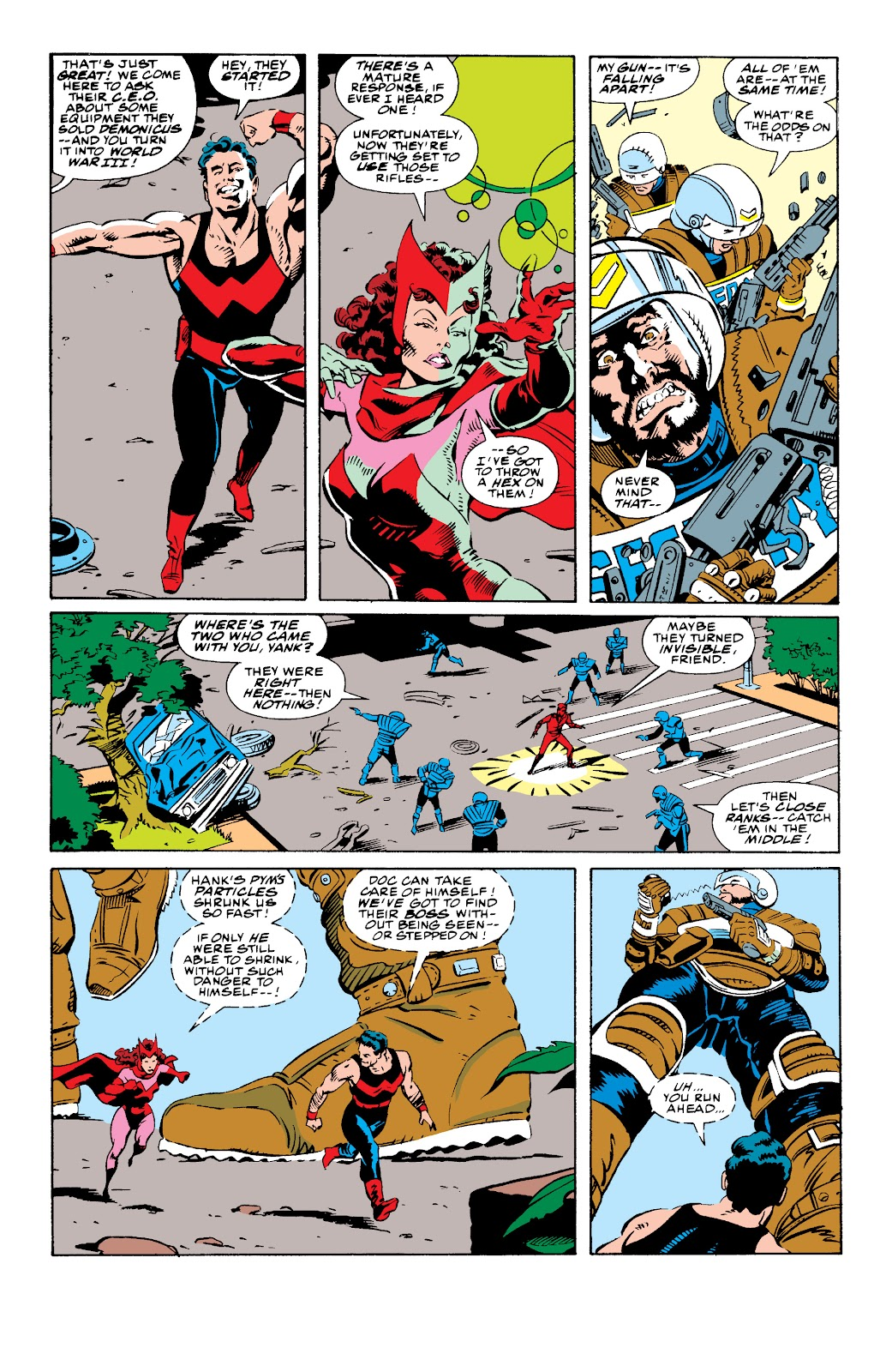 Avengers West Coast (1989) issue 73 - Page 9