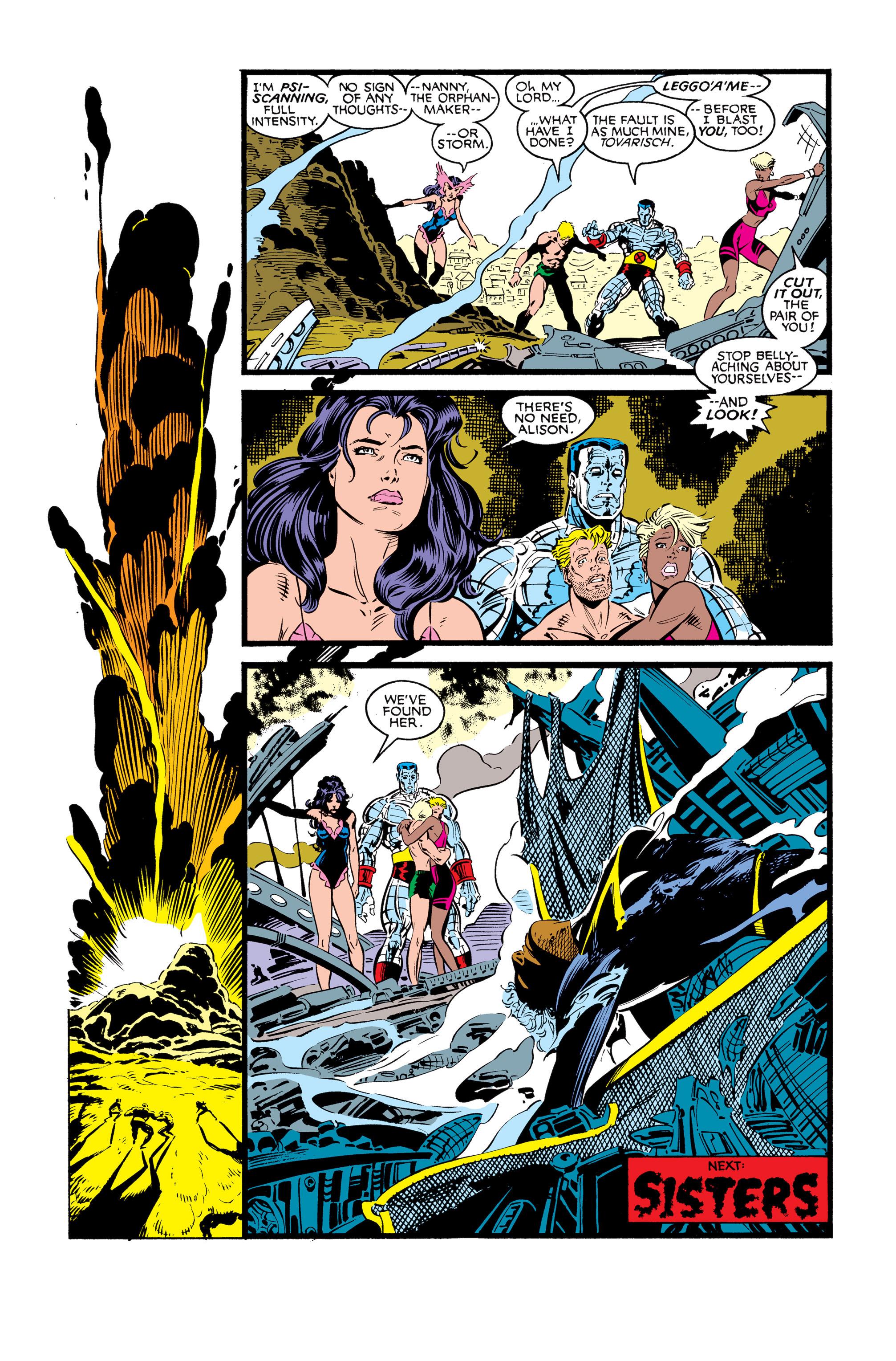 Read online Uncanny X-Men (1963) comic -  Issue #248 - 23