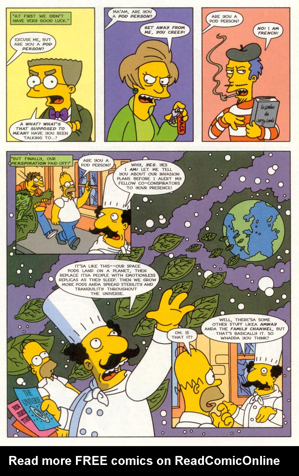 Read online Treehouse of Horror comic -  Issue #3 - 9