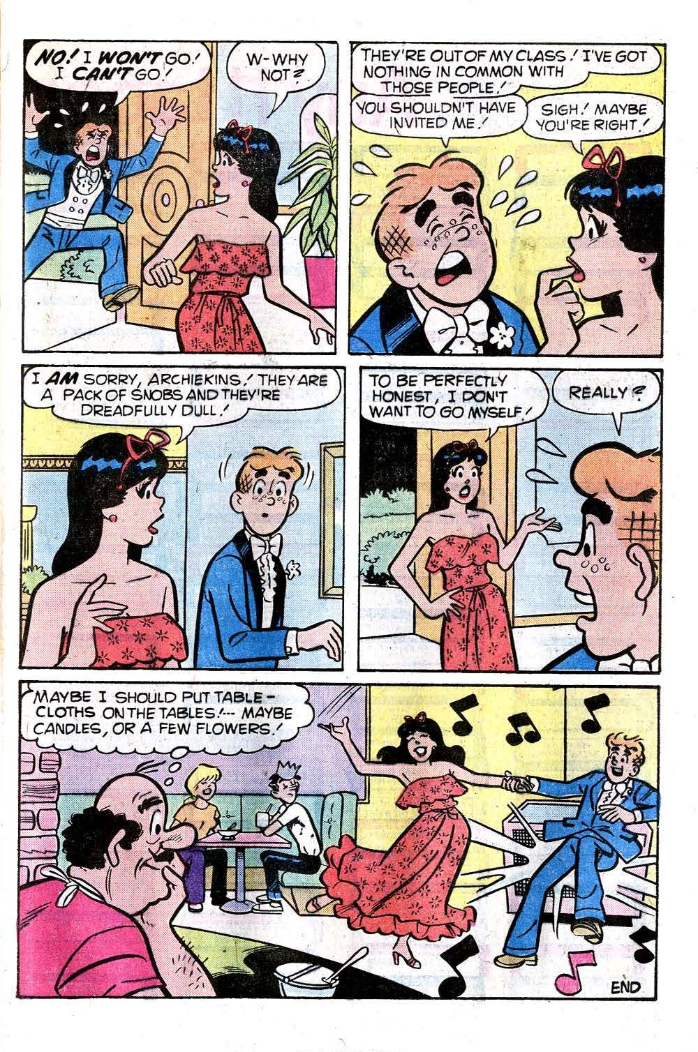 Read online Archie (1960) comic -  Issue #276 - 17