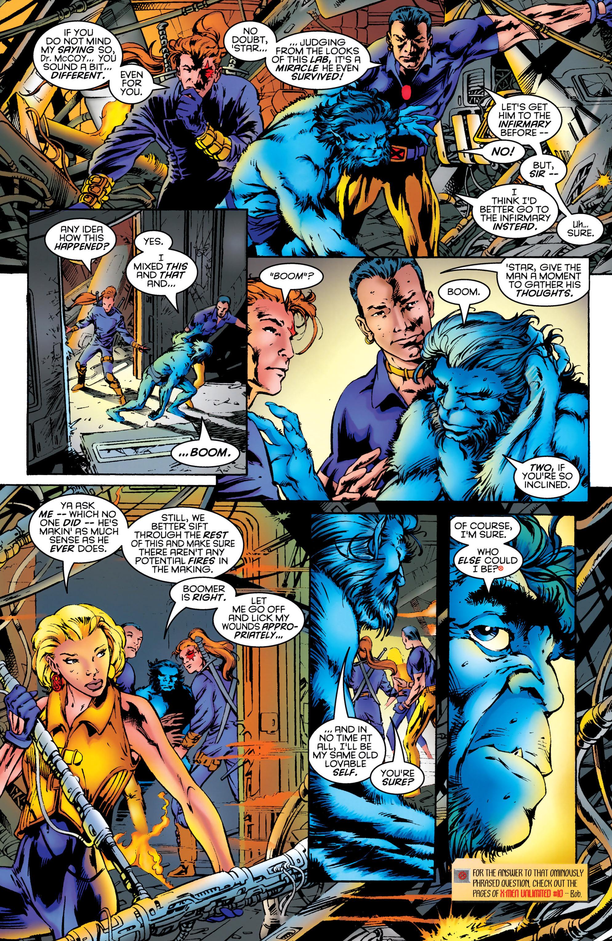 Read online Uncanny X-Men (1963) comic -  Issue #331 - 4