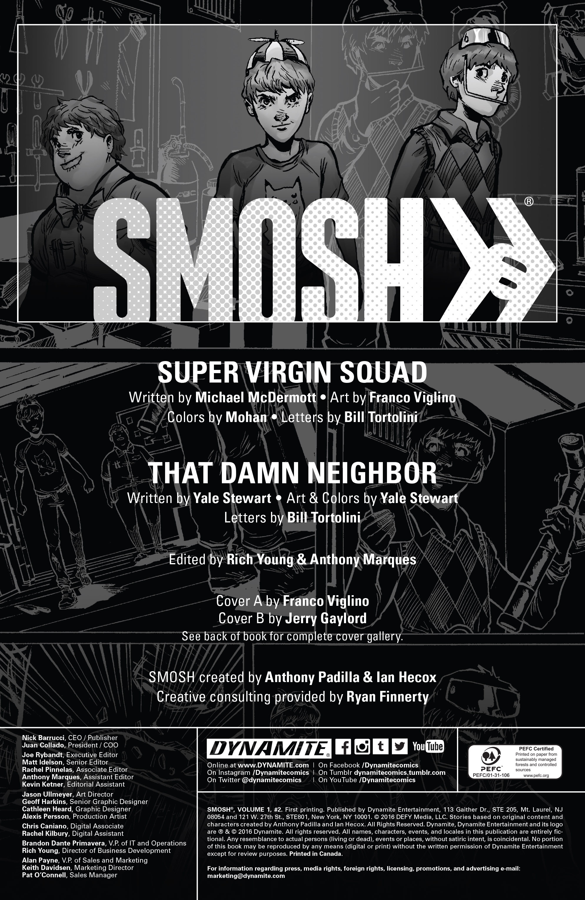 Read online Smosh comic -  Issue #2 - 3
