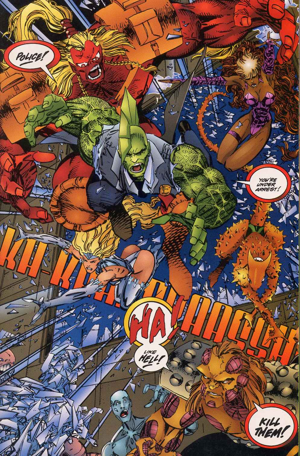 The Savage Dragon (1993) Issue #5 #7 - English 22