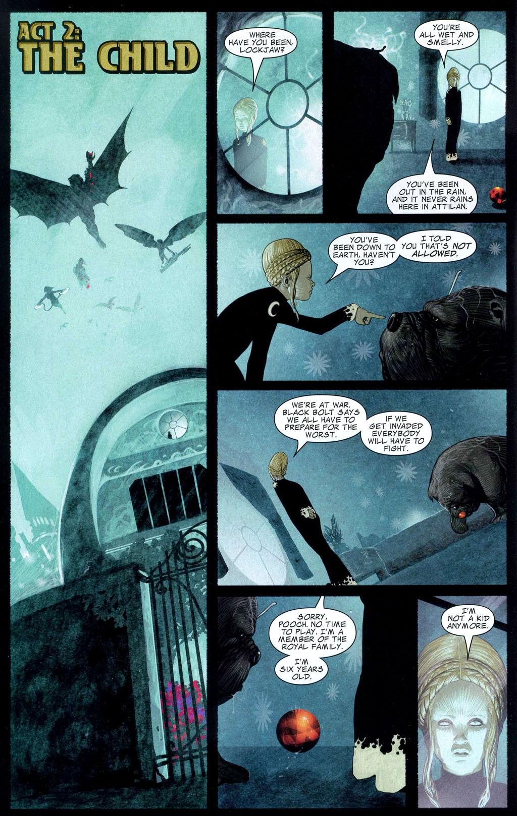 Read online Silent War comic -  Issue #2 - 3