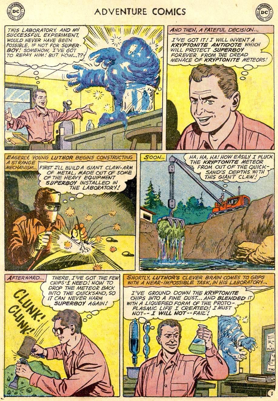 Read online Adventure Comics (1938) comic -  Issue #271 - 7