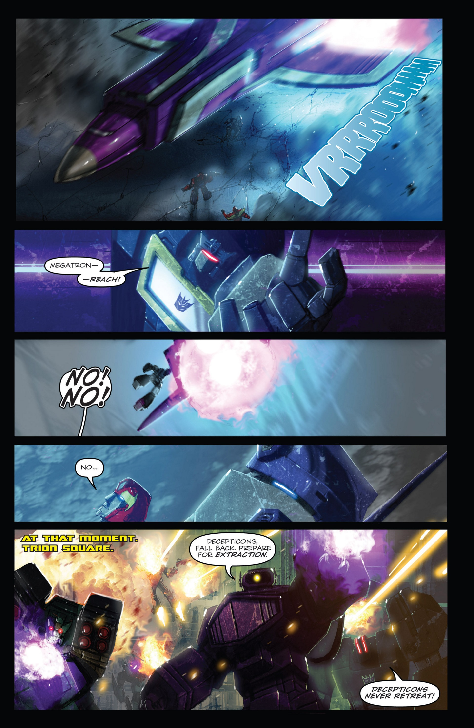 Read online Transformers: Autocracy comic -  Issue # Full - 115