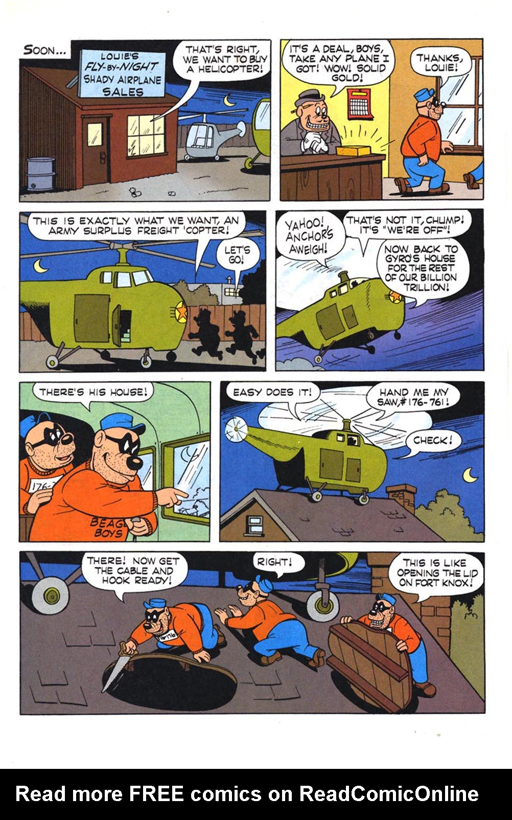 Read online Uncle Scrooge (1953) comic -  Issue #303 - 16
