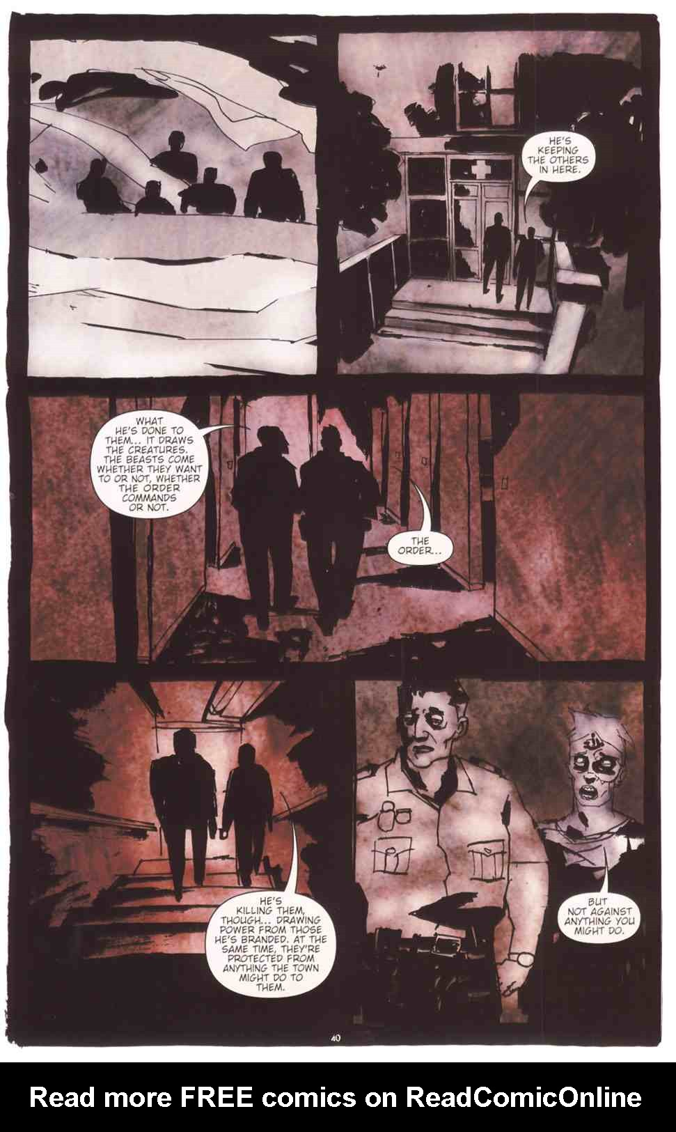 Read online Silent Hill: The Grinning Man comic -  Issue # Full - 41