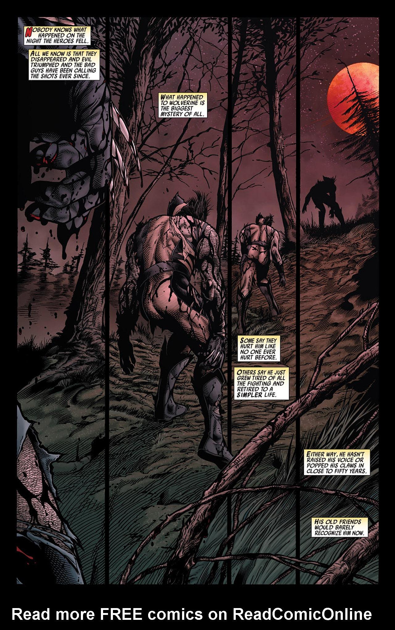 Read online Wolverine: Old Man Logan comic -  Issue # Full - 4