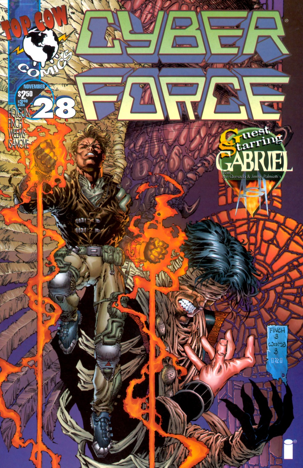 Cyberforce (1993) issue 28 - Page 1