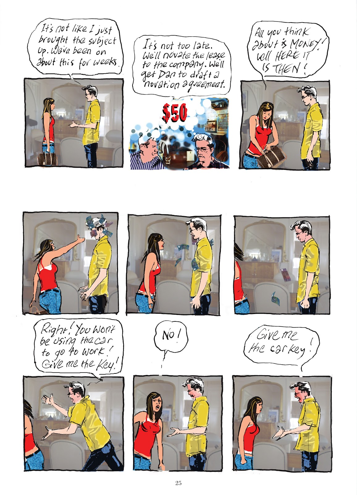 Read online The Lovely Horrible Stuff comic -  Issue # TPB - 27