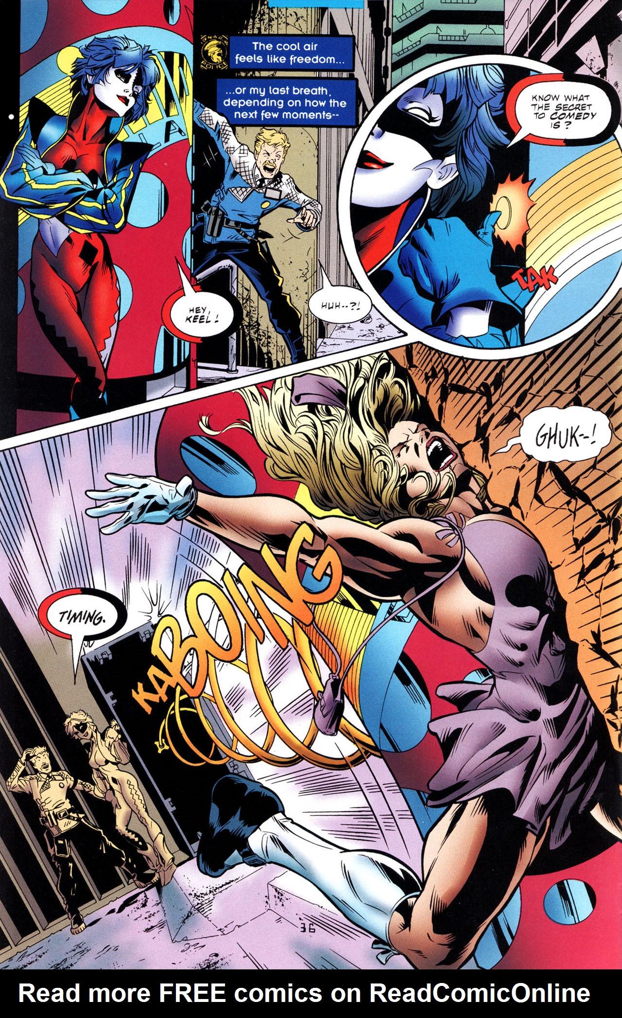 Read online Tangent Comics/ The Joker comic -  Issue # Full - 37