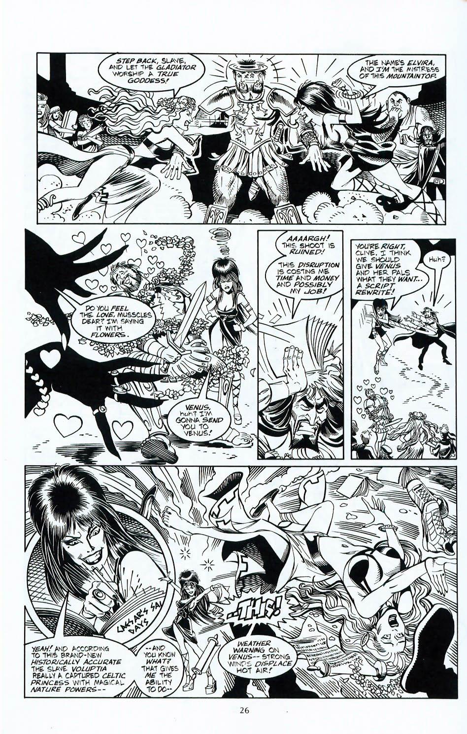 Read online Elvira, Mistress of the Dark comic -  Issue #117 - 23