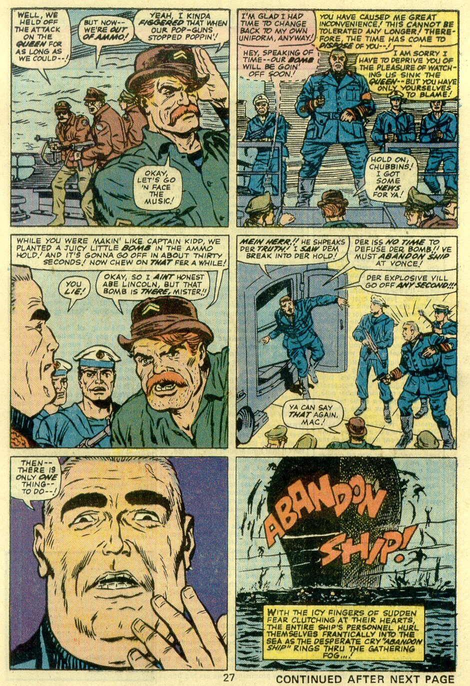 Read online Sgt. Fury comic -  Issue #128 - 29