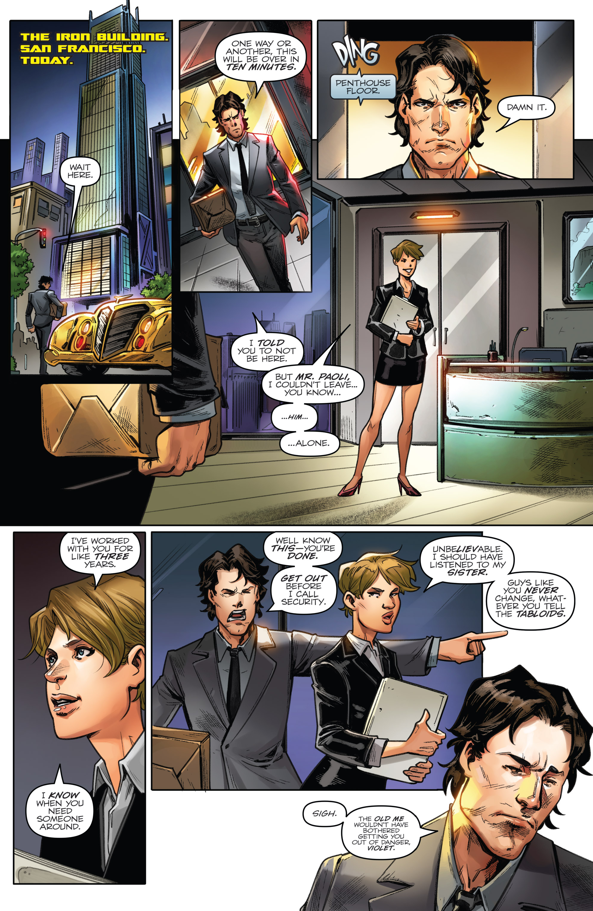 Read online Revolutionaries comic -  Issue #5 - 7