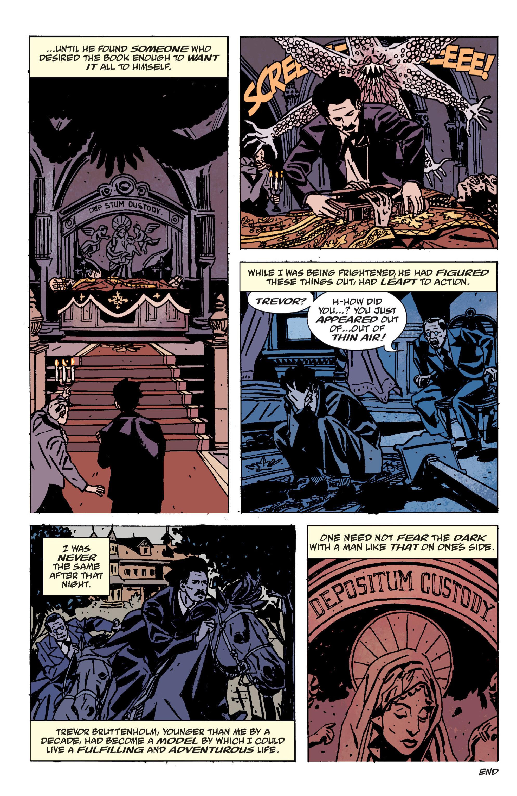 Read online B.P.R.D. (2003) comic -  Issue # TPB 9 - 144