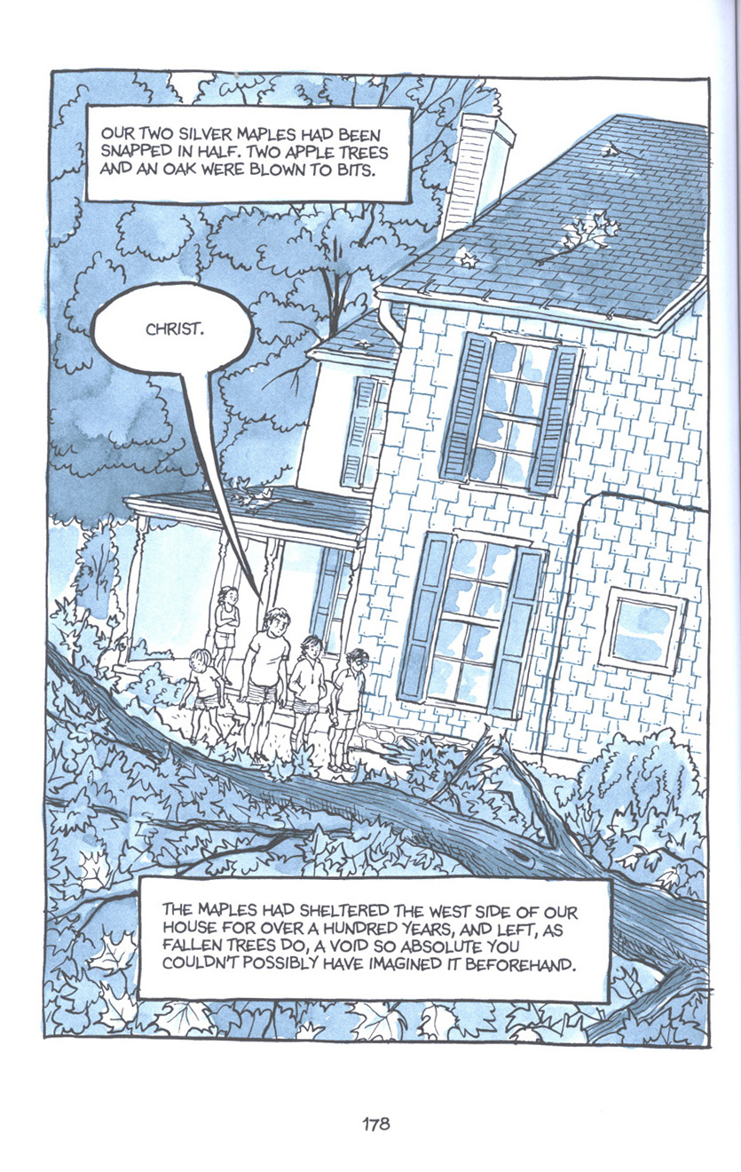 Read online Fun Home: A Family Tragicomic comic -  Issue # TPB - 184