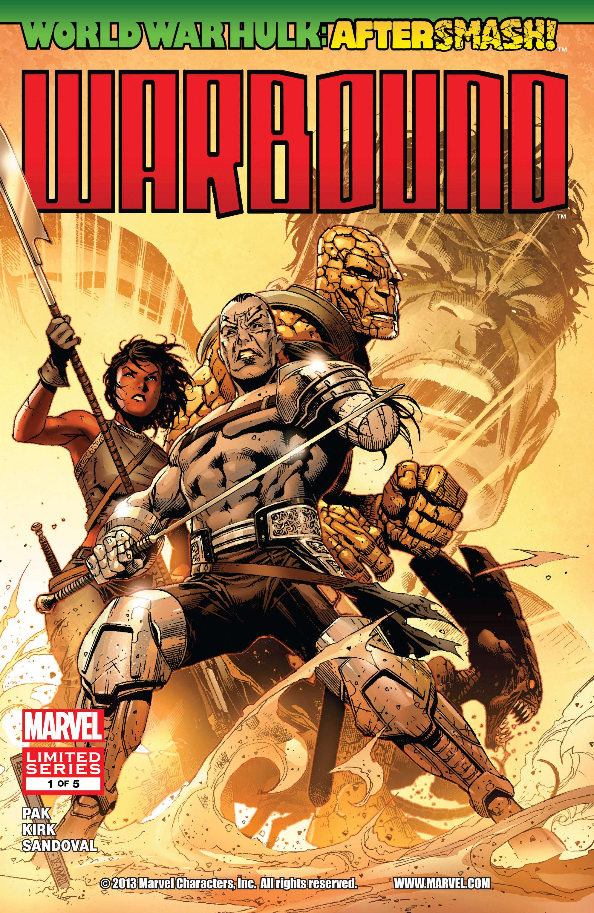 Read online World War Hulk Aftersmash: Warbound, Vol. 1 comic -  Issue #1 - 1