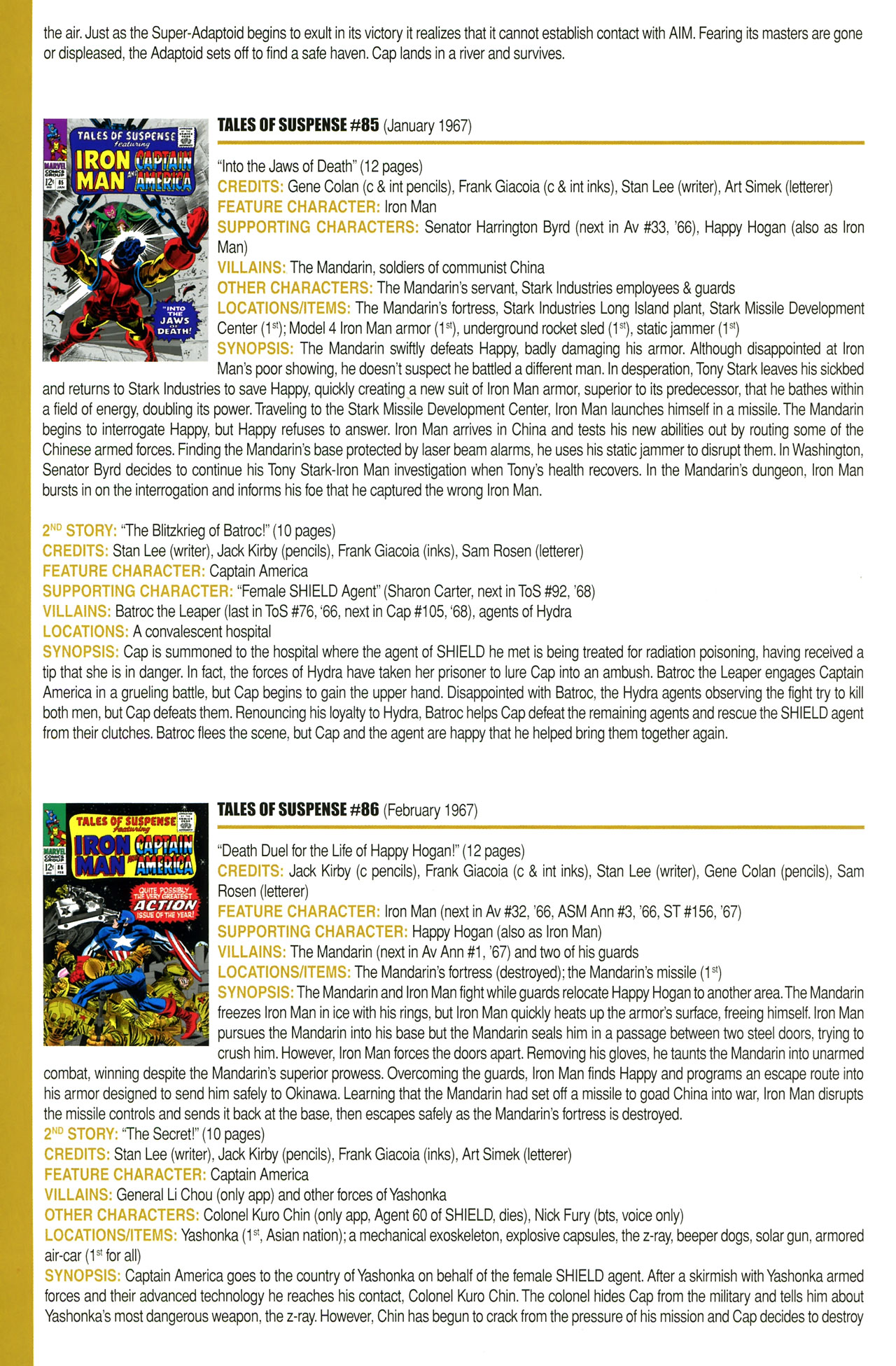 Read online Official Index to the Marvel Universe comic -  Issue #2 - 30