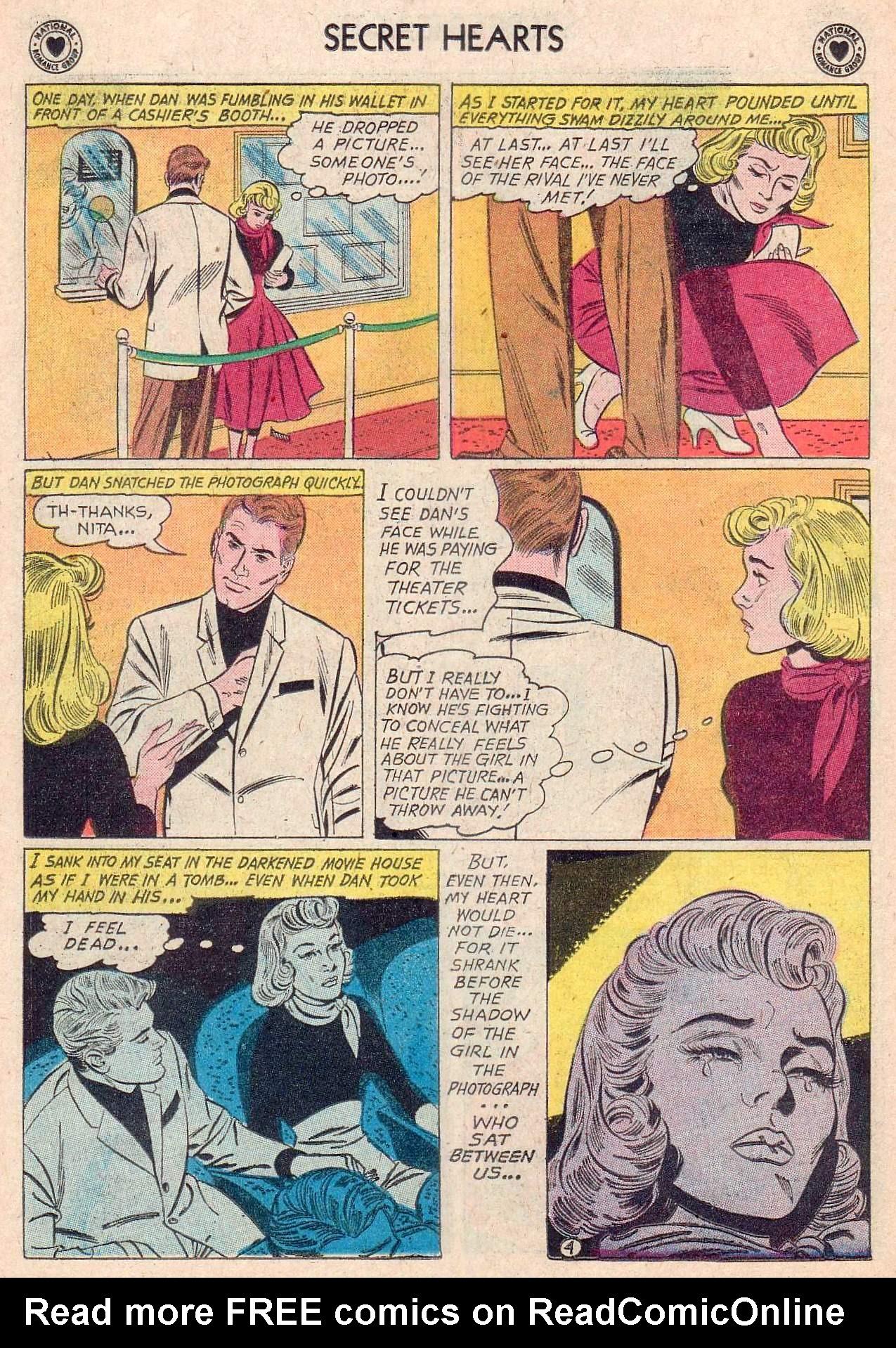Read online Secret Hearts comic -  Issue #67 - 30