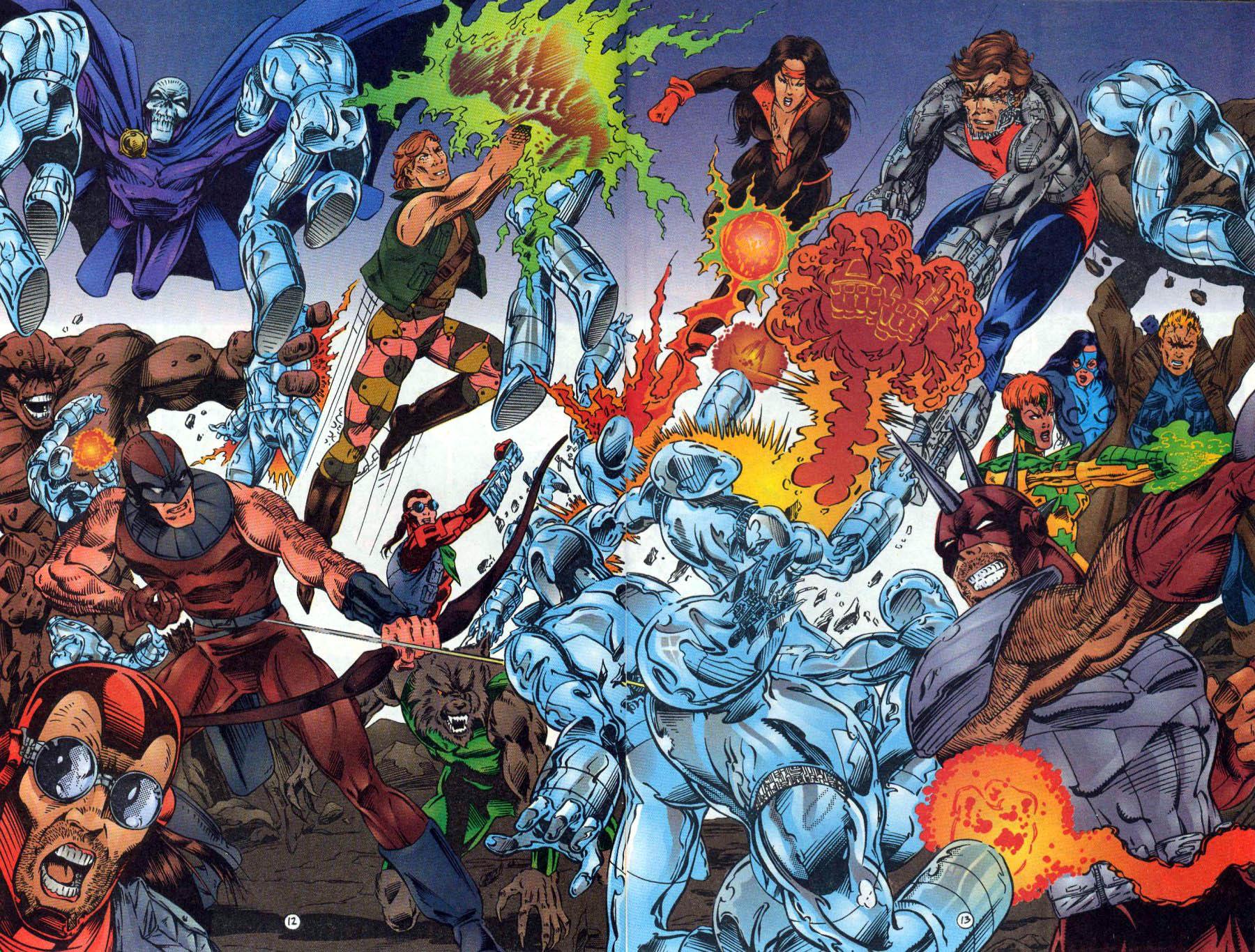 Read online Ex-Mutants comic -  Issue #18 - 13