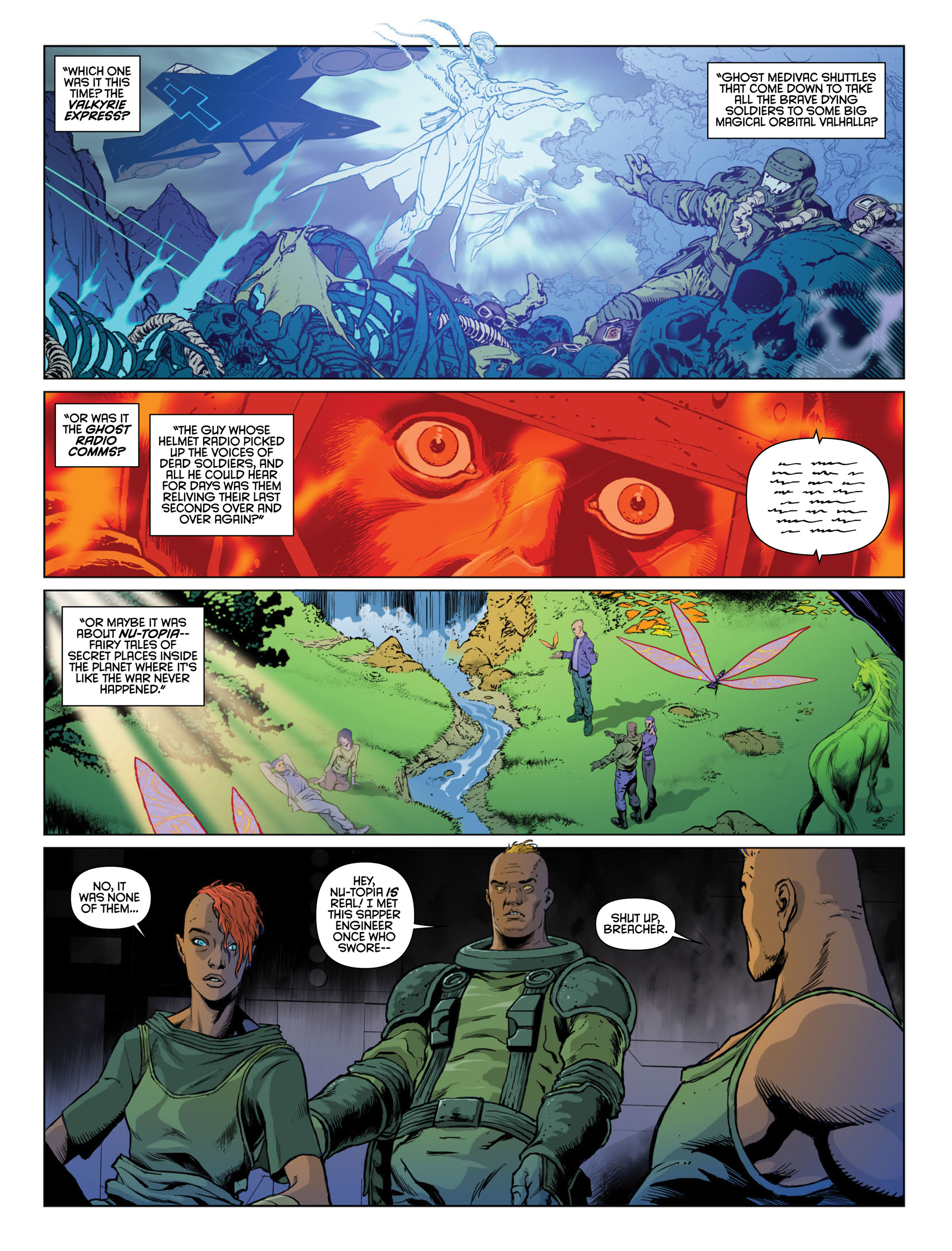 Read online 2000 AD comic -  Issue #2000 - 27