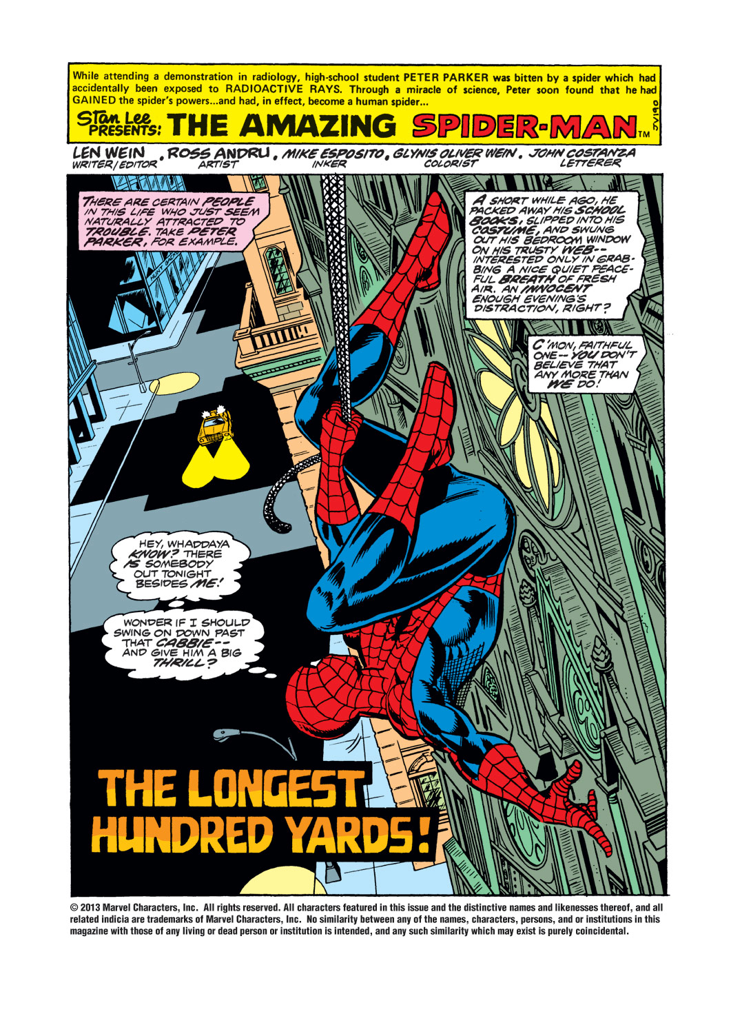 The Amazing Spider-Man (1963) 153 Page 1