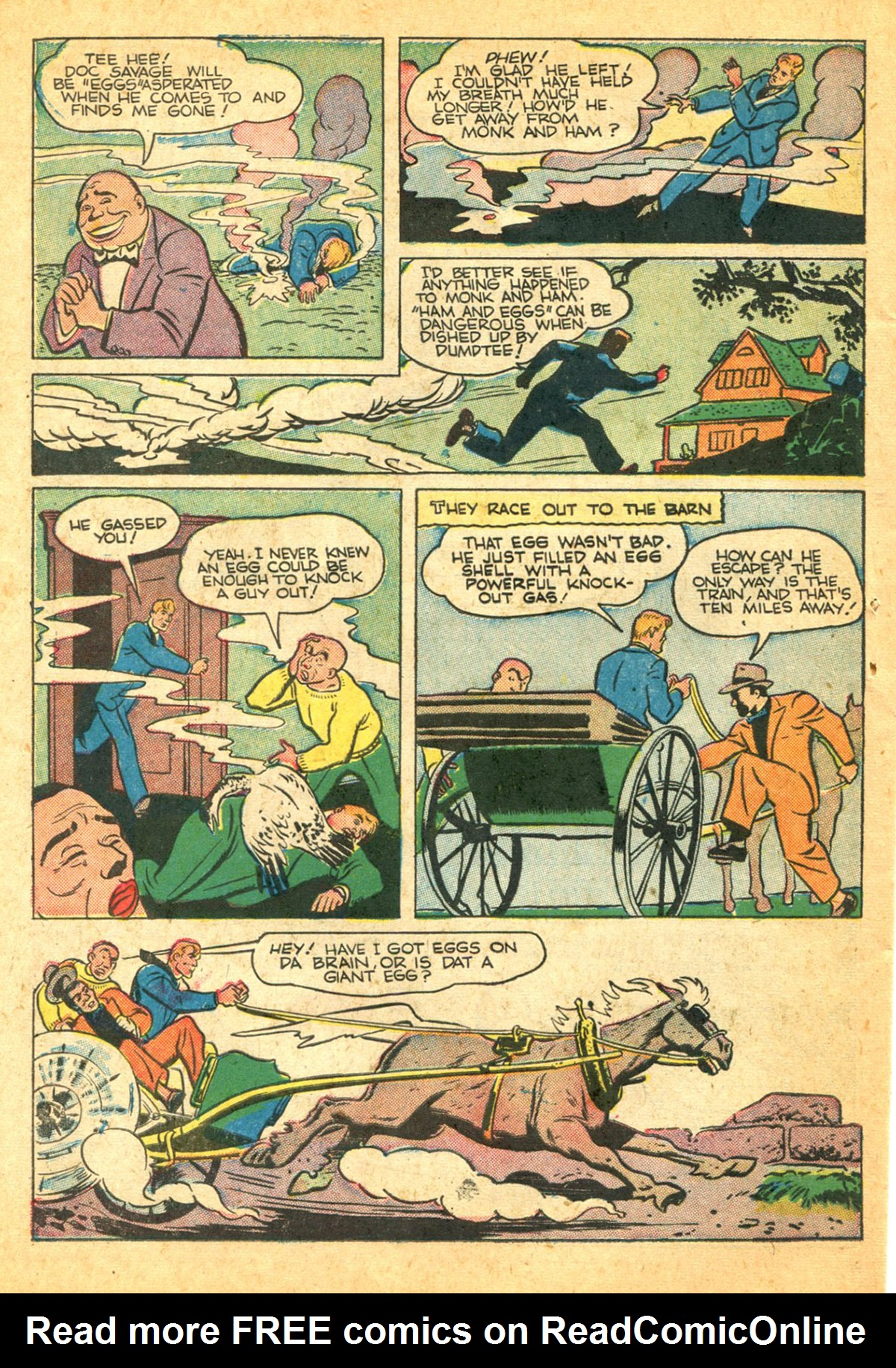 Read online Shadow Comics comic -  Issue #38 - 44