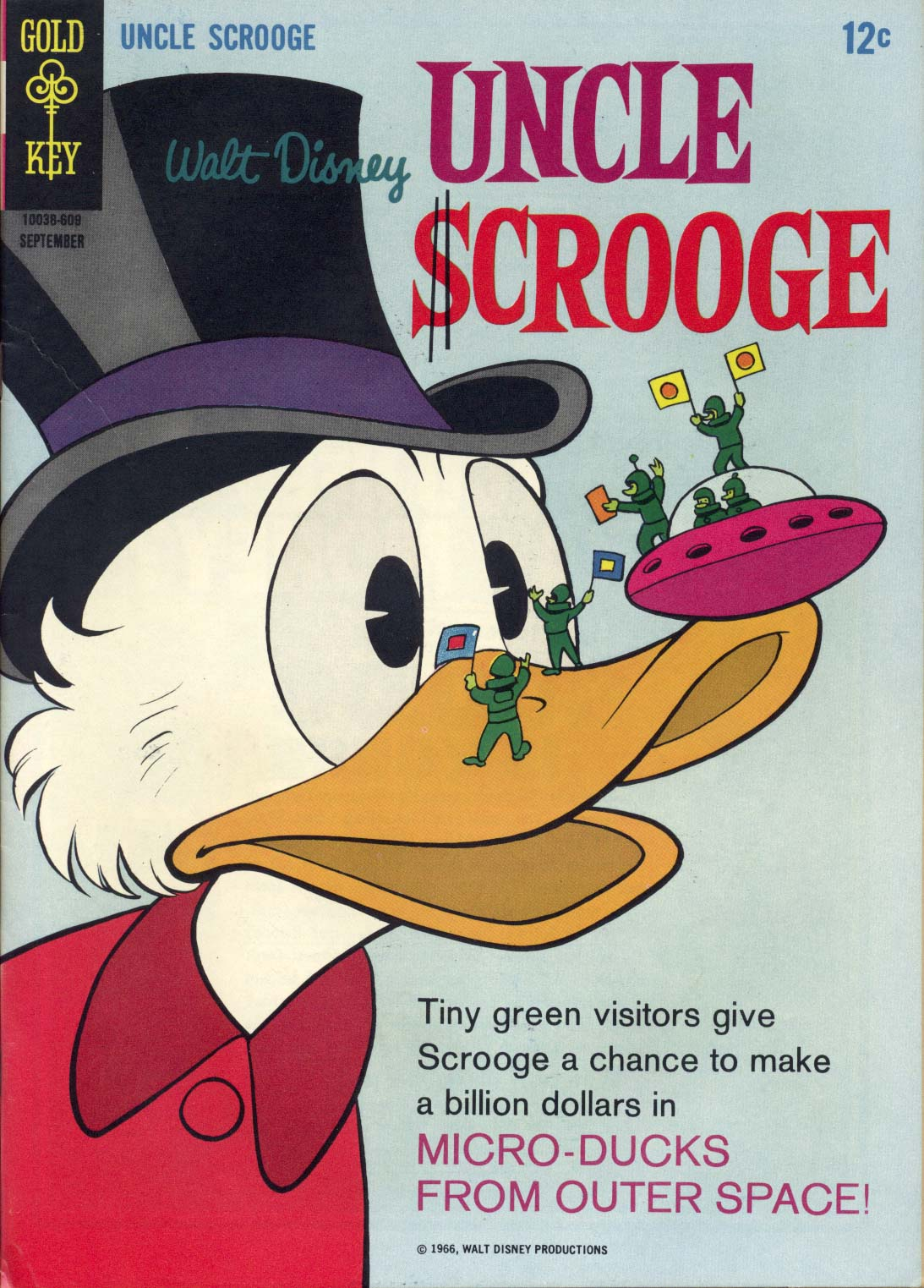 Read online Uncle Scrooge (1953) comic -  Issue #65 - 1
