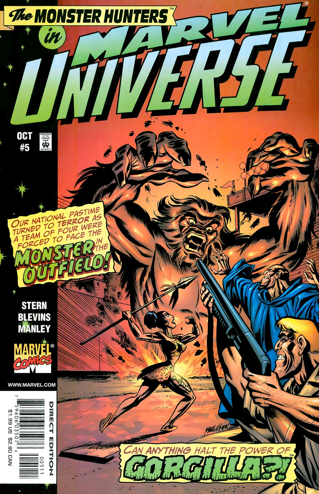 Marvel Universe issue 5 - Page 1